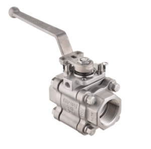 Sharpe Valves Series 80 High Performance Class 800 3-Piece Ball Valve